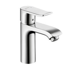 Metris E One-Handle Single Hole Bathroom Faucet - Chrome