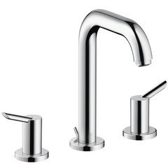 Focus S Two-Handle Widespread Bathroom Faucet - Chrome
