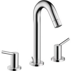 Talis S Two-Handle Widespread Bathroom Faucet - Chrome