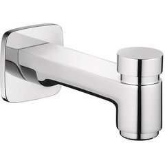 Logis Tub Spout with Diverter - Chrome