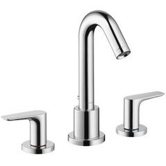 Logis 3-Hole Roman Tub Set Trim - Chrome