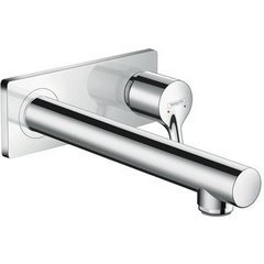 Talis S Wall-Mounted Single-Handle Faucet Trim - Chrome