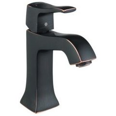 Metris C Single-Hole Faucet - Rubbed Bronze