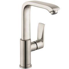 Metris E One-Handle Single Hole Bathroom Faucet - Nickel