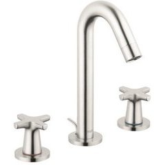 Logis Classic Widespread Faucet - Brushed Nickel