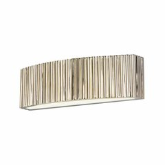 Paramount 2 Light Bathroom Vanity Light - Polished Nickel