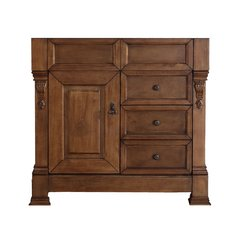 "36"" Brookfield Single Cabinet Only w/o Top - Country Oak"