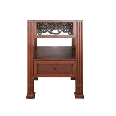 "24"" Napa Single Cabinet Only w/o Top - Dark Cherry"