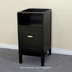 """16"""" Floor Cabinet w/o Top - Espresso"""