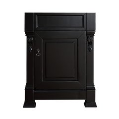 """26"""" Brookfield Single Cabinet only w/o top - Antique Black"""
