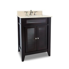 "26"" Lindley Single Sink Bathroom Vanity - Espresso"
