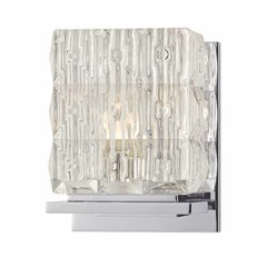 Torrington 1 Light Bathroom Sconce - Polished Chrome