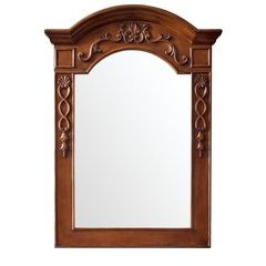 "40"" X 29"" European Traditions Wall Mount Mirror Cherry"
