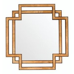 "40"" X 38"" Grafton Wall Mount Mirror Warm Espresso"