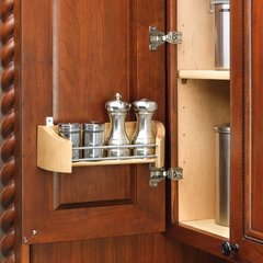 """Wood Door Storage Tray With Mounting Clips 20"""""""