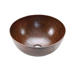 "15"" Diameter Vessel/Above Counter Sink - Oil Rubbed Bronze"