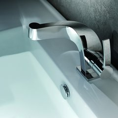 Typhon Single Hole Bathroom Faucet - Chrome