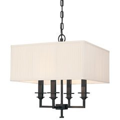 Berwick 4 Light Chandelier - Old Bronze