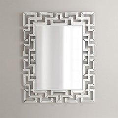 "42"" x 32"" Modern Luxe Wall Mount Mirror"