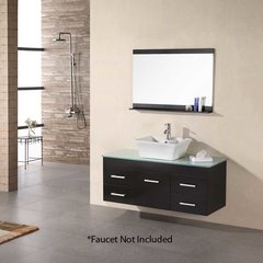 "48"" Madrid Single Vessel Sink Bathroom Vanity - Espresso"