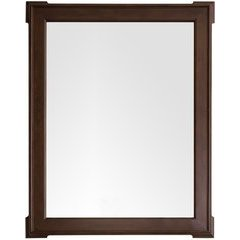 Pasadena 44.25 Inch x 35 Inch Mirror - Burnished Mahogany