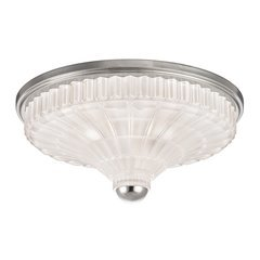 Paris 3 Light Flush Mount - Polished Nickel <small>(#2516-PN)</small>