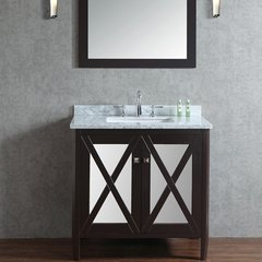 "36"" Seacliff Summit Single Sink Vanity - Espresso"