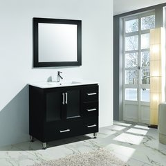 "40"" Stanton Single Sink Bathroom Vanity - Espresso"