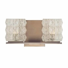 Torrington 2 Light Bathroom Vanity Light - Brushed Bronze