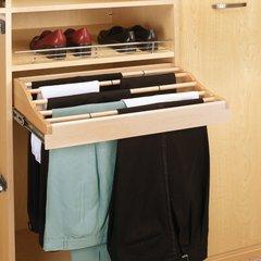 24 inch W Pants Rack-Wood