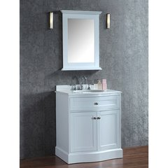 "30"" Seacliff Montauk Single Sink Vanity - Alpine White"