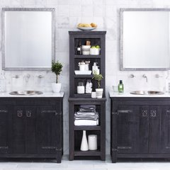 "36"" Americana Single Sink Bathroom Vanity Suite - Anvil"