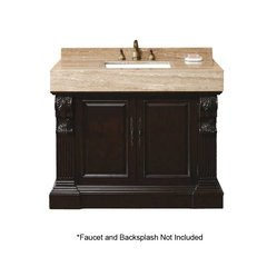 "42"" Newport Single Sink Bathroom Vanity - Dark Cherry"