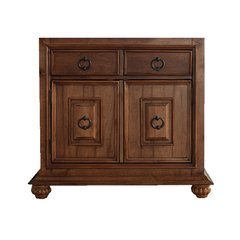 "36"" Mykonos Single Cabinet Only w/o Top - Cinnamon"