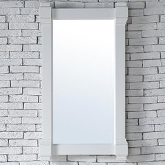 "22"" x 40"" Brittany Wall Mount Bathroom Mirror -Cottage White"