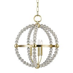 Danville 3 Light Pendant - Aged Brass