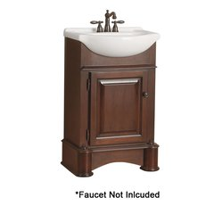 "23"" Avonwood Single Sink Bathroom Vanity - Tobacco"