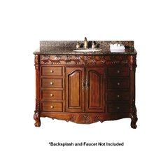 "48"" St. James Single Sink Bathroom Vanity - Cherry"