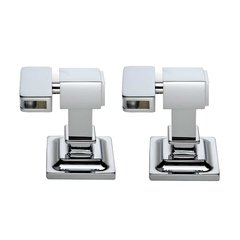 Radiance Tilt Contemporary Mounting Brackets-Polished Chrome