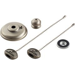 Cieling Fan Finial Kit - Brushed Nickel