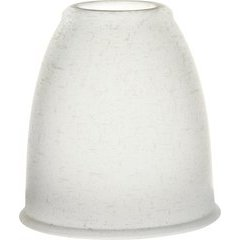 2-1/4 Inch Glass Shade White Linen <small>(#340130)</small>