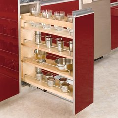 3-Tier Pull-Out Base Organizer 8 inch Wood