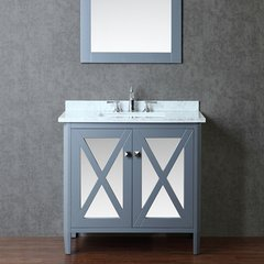 "36"" Seacliff Summit Single Sink Vanity - Whale Gray"