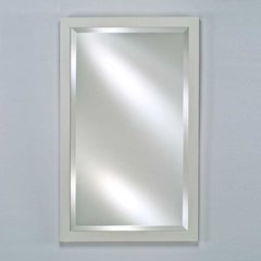 "Estate 16"" Mirror - Satin White <small>(#EC11-1626-WT)</small>"
