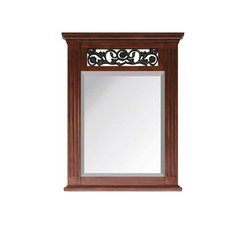 "25"" x 2-1/2"" Napa Wall Mount Mirror - Dark Cherry"