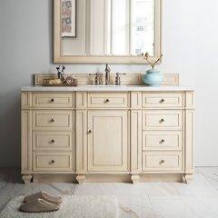 "60"" Bristol Single Cabinet Only w/o Top - Vintage Vanilla"