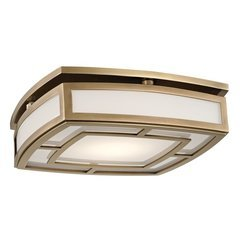 Elmore Large Led Flush Mount - Aged Brass <small>(#3713-AGB)</small>