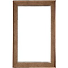 Columbia 42 Inch x 29 Inch Mirror - Latte Oak