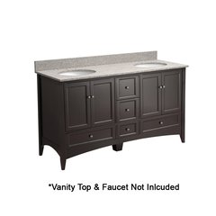 "60"" Berkshire Cabinet Only w/o Top - Espresso"