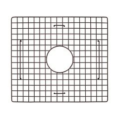 "15"" x 17"" Kitchen Sink Grid - Mocha"